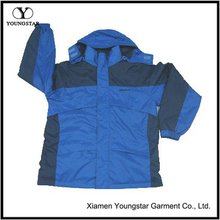 Design Colorful Blue Waterproof Sports Jacket