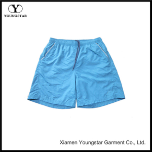 Youth Blue Board Shorts Men's Shorts Swim Trunks with Reflective Pockets