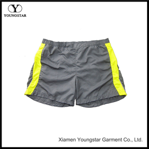 Yellow Swim Short Casual Mens Surfing Beach Shorts Trunk